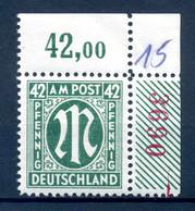 BIZONE 1945 Nr 31A R4 Postfrisch (408975) - American/British Zone