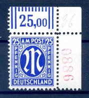 BIZONE 1945 Nr 28B R4 Postfrisch (408991) - American/British Zone