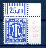 BIZONE 1945 Nr 28B R4 Postfrisch (408989) - American/British Zone