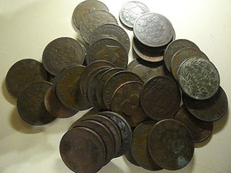 Portugal Lot 36 Coins 10 And 20 Reis 1882-1892 - Alla Rinfusa - Monete
