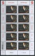 Monaco 2020 Solidarity, Pandemic, Prince Albert II, Covid-19 MNH** - Blocks & Sheetlets