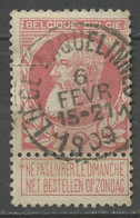 Belgique - Belgium - Belgien 1905 Y&T N°74 - Michel N°71 (o) - 10c Léopold II - Avec Tabs - 1905 Barba Grossa