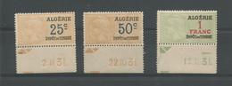 Algérie 216 - 1931  Timbres Fiscaux Datés - Other