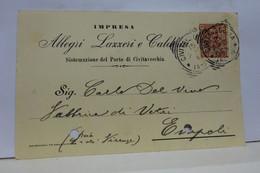 CIVITAVECCHIA  ---  ROMA  -- IMPRESA  LAZZERI & CALDERAI - Civitavecchia
