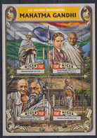 L10. Niger MNH 2016 The Great Humanist, Mahatma Gandhi, 1869-1948 - Mahatma Gandhi