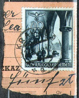 Generalgouvernement [pf] 47 KRAKAU-9 + RZESZOW - Bezetting 1938-45