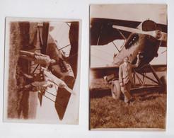 Photographie Avion Aviation Lot De 2 Photographies - Aviation