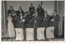 69 - CHARBONNIERES LES BAINS - T.B. Photo Animée De L'Orchestre Géo Mouque ( 17.5 Cm X 11.7 Cm ) - Charbonniere Les Bains