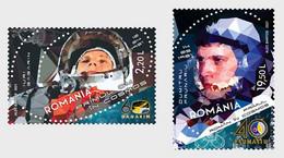 Romania Rumänien Delivery Within 4 Weeks MNH ** Ru 2021 - 177 Space Exploration - Anniversaries Set - Nuovi