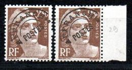 Préoblitéré N° 95 - Type Gandon 2f50 Brun ** - 2 Unités - 1893-1947