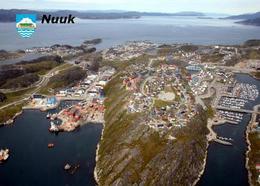 Greenland Nuuk Aerial View New Postcard Grönland AK - Greenland