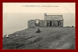 Le Val André , Le Port De Dahouet , La Guette   (scan Recto Et Verso ) - Pléneuf-Val-André