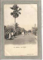 CPA - DAKAR - SENEGAL - Aspect D'une Rue En 1900 - Senegal