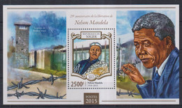 M10. Niger MNH 2015 The 25th Anniversary Of The Liberation Of Nelson Mandela, 1918-2013 - Sin Clasificación