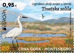 Montenegro  MNH ** 2021  Europa 2021 - Endangered National Wildlife Stamp M - 2020