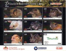 Equateur Ecuador 2954/62 Chauve-souris - Bats