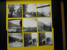 Photo ,TRAMWAY Et Gares Des ALPES MARITIMES ,collection Bourneuf ,lire Descriptif , Menton -Sospel ,Nice - Treinen