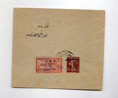 HOG362 - SIRIA SYRIA 1921 , Lettera Viaggiata Con Il P.a. N. 3 + Complemento (CRT) - Briefe U. Dokumente