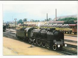 49 ANGERS Train Locomotive à Vapeur Du Dépôt De TOURS En Relais Au Dépôt Des Gaubourg Wagons Silos Le 16/06/1966 - Angers