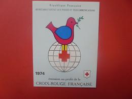 CROIX-ROUGE CARNET 1974 NEUF** (PAS D'OFFRES INFERIEURES ACCEPTEES !) - Rotes Kreuz