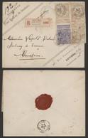 Expositions - N°71 Et 72 X3 Sur L. En Recommandé (Paul Renaux, Diamants, Boutique) De Anvers > Courtrai - 1894-1896 Tentoonstellingen