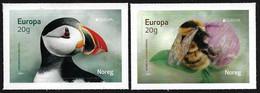 "NORUEGA /NORWAY /NORWEGEN /NORVÉGE / NORGE -EUROPA 2021 -""ENDANGERED NATIONAL WILDLIFE"".- SERIE De 2 V. - N - 2020"