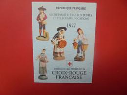 CROIX-ROUGE CARNET 1977 NEUF** (PAS D'OFFRES INFERIEURES ACCEPTEES !) - Rotes Kreuz