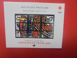 CROIX-ROUGE CARNET 1981 NEUF** (PAS D'OFFRES INFERIEURES ACCEPTEES !) - Rotes Kreuz