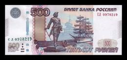 Rusia Russia 500 Rubles 1997 (2010) Pick 271d SC UNC - Russland