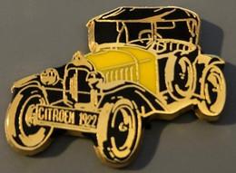 VOITURE - CAR - AUTOMOBILE - AUTO - CITROËN 1922 - JAUNE ET NOIRE - EGF   -    (14) - Citroën