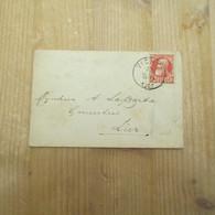 Vichte 1907 - Enveloppes-lettres
