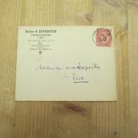 Izegem 1900 Dokter Depoorter - Enveloppes-lettres