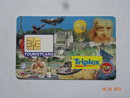 CARTE A PUCE FIDÉLITÉ  TOURISTCARD TRIPLEX - Gift And Loyalty Cards