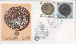 """San Marino 1976 - FDC Filagrano - """"Europa"""" S. Cpl 2v (rif. 967/68 Cat. Unificato) - FDC"""