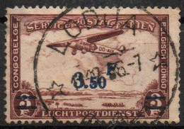 Congo - Lodja - Keach Type 8A1 - COB PA17 - Poste Aérienne Avion - 1946 - B14 - Airmail: Used