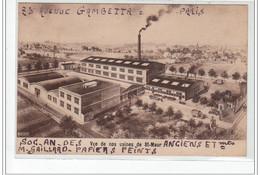 SAINT MAUR - Maison Baroggi, Papiers Peints - Vue De Nos Usines De Saint Maur - Très Bon état - Saint Maur Des Fosses