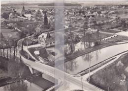 CPSM MONTCRESSON PONT DU CANAL DE BRIARE ET VUE GENERALE - Altri Comuni