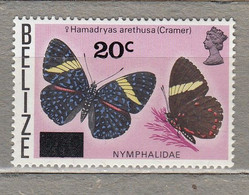 BRITISH COLLONIES BELIZE Fauna Insects Butterflies 1976 MNH(**) Mi 363 #27935 - Papillons