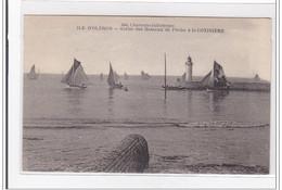 ILE D'OLERON : Sortie Des Bateaux De Peche A La Cotiniere - Tres Bon Etat - Ile D'Oléron