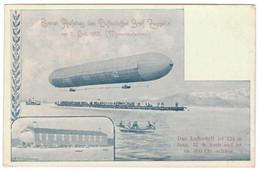Erster Aufstieg Des Luftschiffes Graf Zeppelin Am 2 Juli 1900 (Momentaufnahme) - Dirigibili