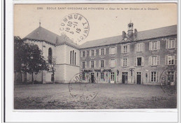 PITHIVIERS : Ecole Saint-gregoire, Cour De La 1er Division Et La Chapelle - Tres Bon Etat - Pithiviers
