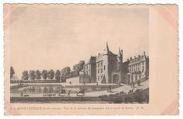 60 - Mont-L'Evêque (XVIIIe Siècle) - Vue De La Maison De Campagne Des évêques De Senlis - Otros Municipios