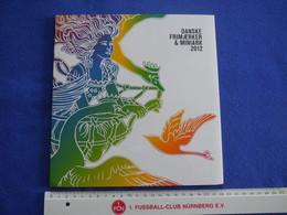 Dänemark, Jahrbuch, Jahressammlung, Klappfolder, 2012, Komplett Postfrisch - Ganze Jahrgänge