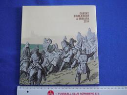 Dänemark, Jahrbuch, Jahressammlung, Klappfolder, 2014, Komplett Postfrisch - Ganze Jahrgänge
