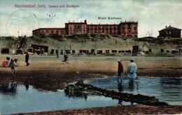 Juist, Nordseebad, Strand Mit Kurhaus, Hotel, 1912 - Juist