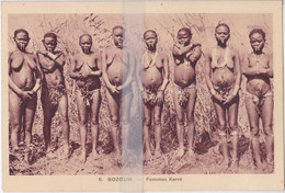 CPA  CENTRAFIQUE BOZUM  FEMMES KARE - Central African Republic