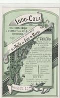 AUTRE COLLECTION 32 : Vin Iodo Cola A L'extrait De Cola étiquette Pharmaceutique E Giraud Pharmacie Chimiste A Lunel - Medizinische Und Zahnmedizinische Geräte