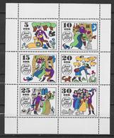 BLOC DDR NEUF ** 1969 MICHEL 1450 - 1455 - Blokken