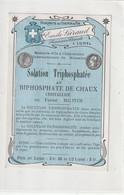 AUTRE COLLECTION 35 : Solution Triphosphatée étiquette Pharmaceutique E Giraud Pharmacie Du Chemin De Fer A Lunel - Medizinische Und Zahnmedizinische Geräte