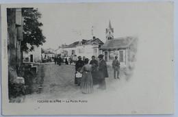 C. P. A. : 24 TOCANE SAINT-APRE : Le Poids Public, Animé, Timbre En 1907 - Andere Gemeenten